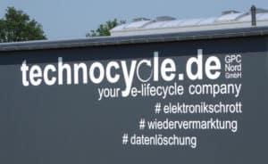 Das neue Gebäude von technocycle